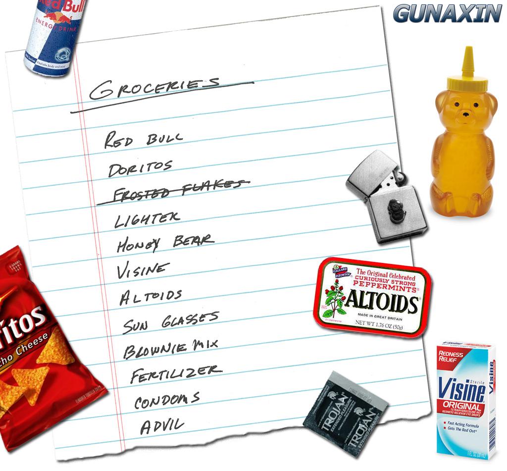 michael phelps grocery list