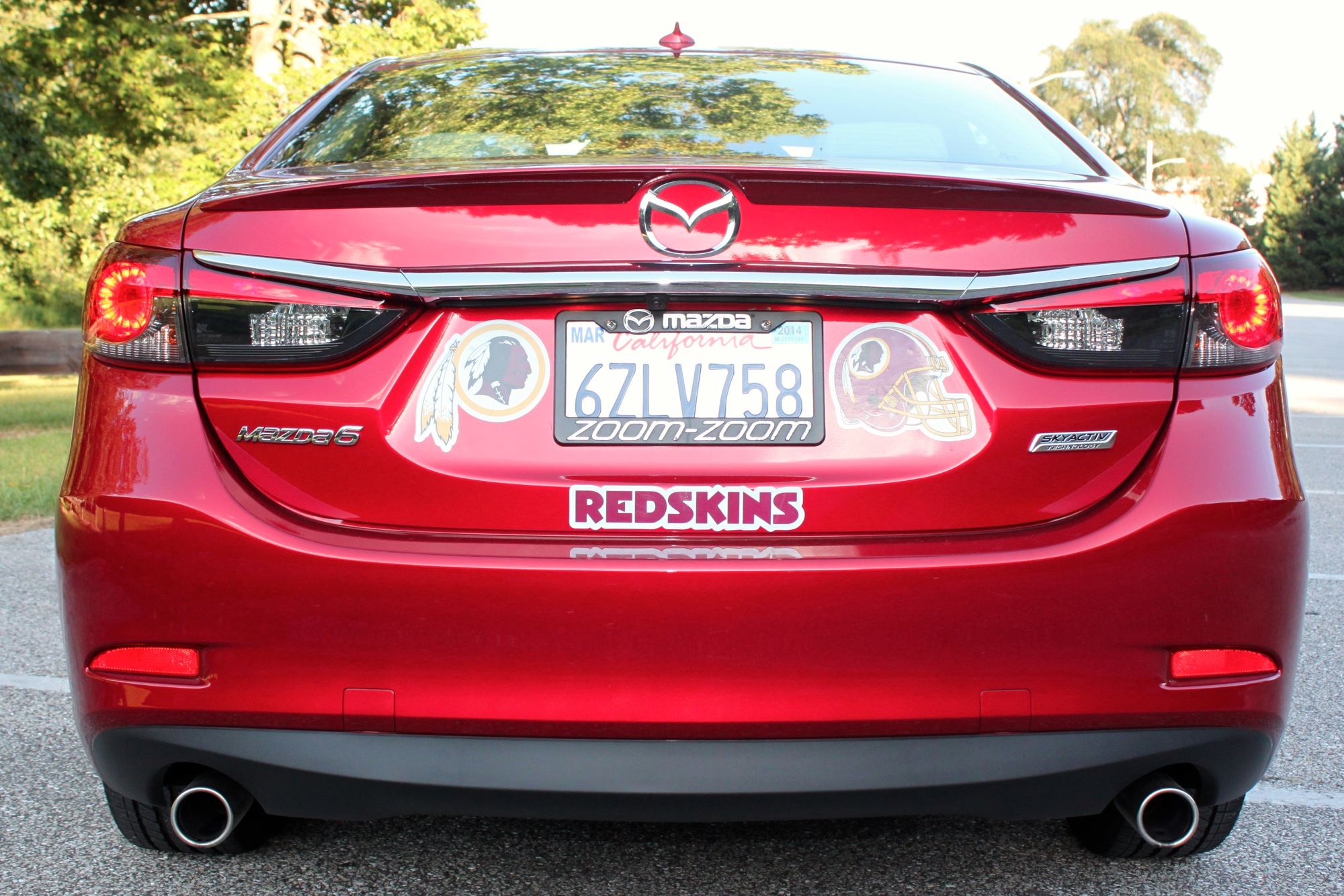 2014 mazda 6 grand touring review. Black Bedroom Furniture Sets. Home Design Ideas