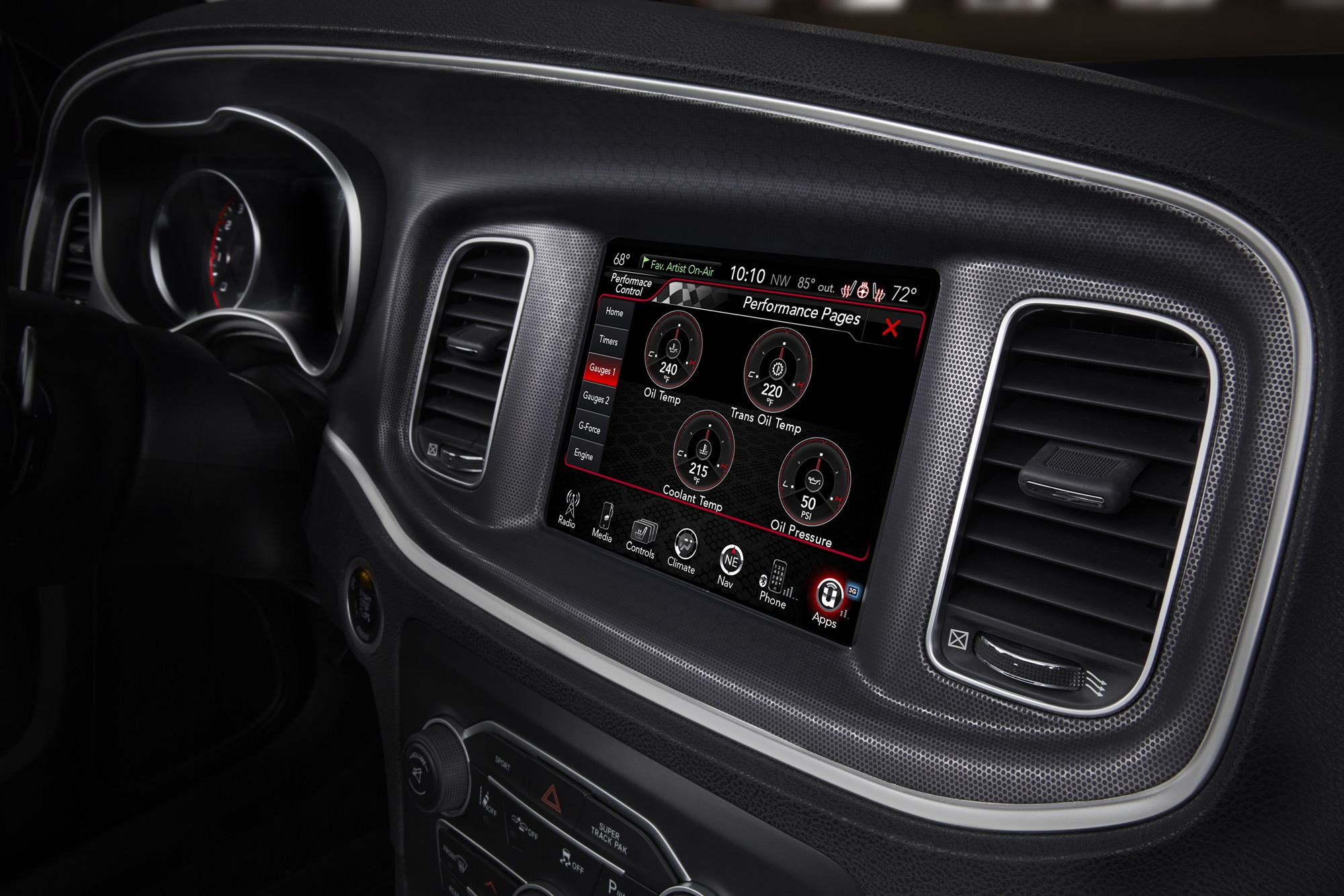 Thumbs 2015 Dodge Charger Interior 8