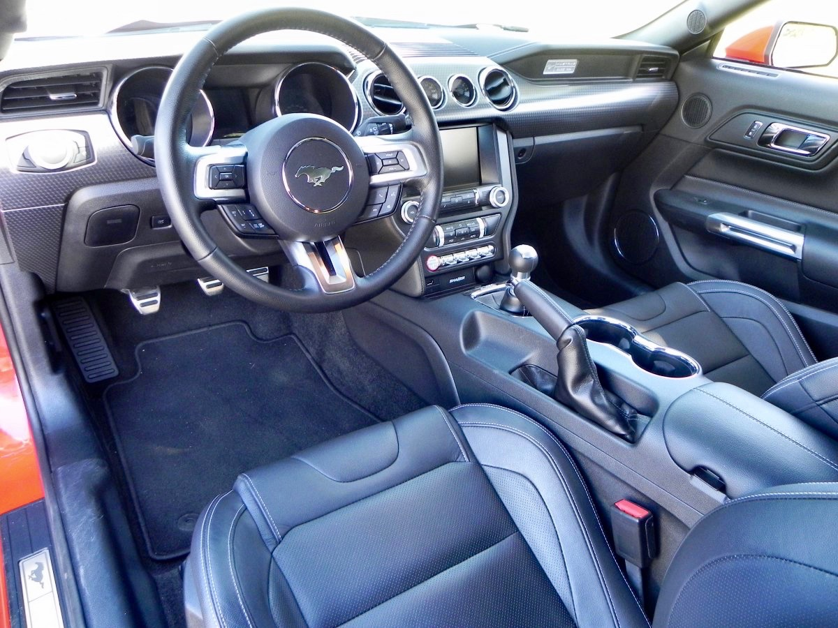 2015 ford mustang gt review - Interior ford mustang ...