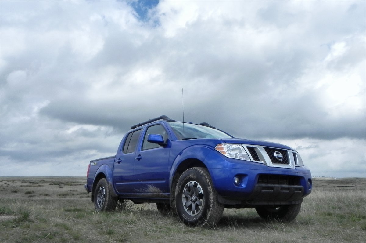 2015 Nissan Frontier Pro 4x Review