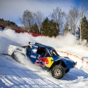 Ricky Johnson races the course during qualifying at Red Bull Frozen Rush at Sunday River in Newry, Maine, USA on 08 January 2015. // Garth Milan/Red Bull Content Pool // P-20150109-00032 // Usage for editorial use only // Please go to www.redbullcontentpool.com for further information. //