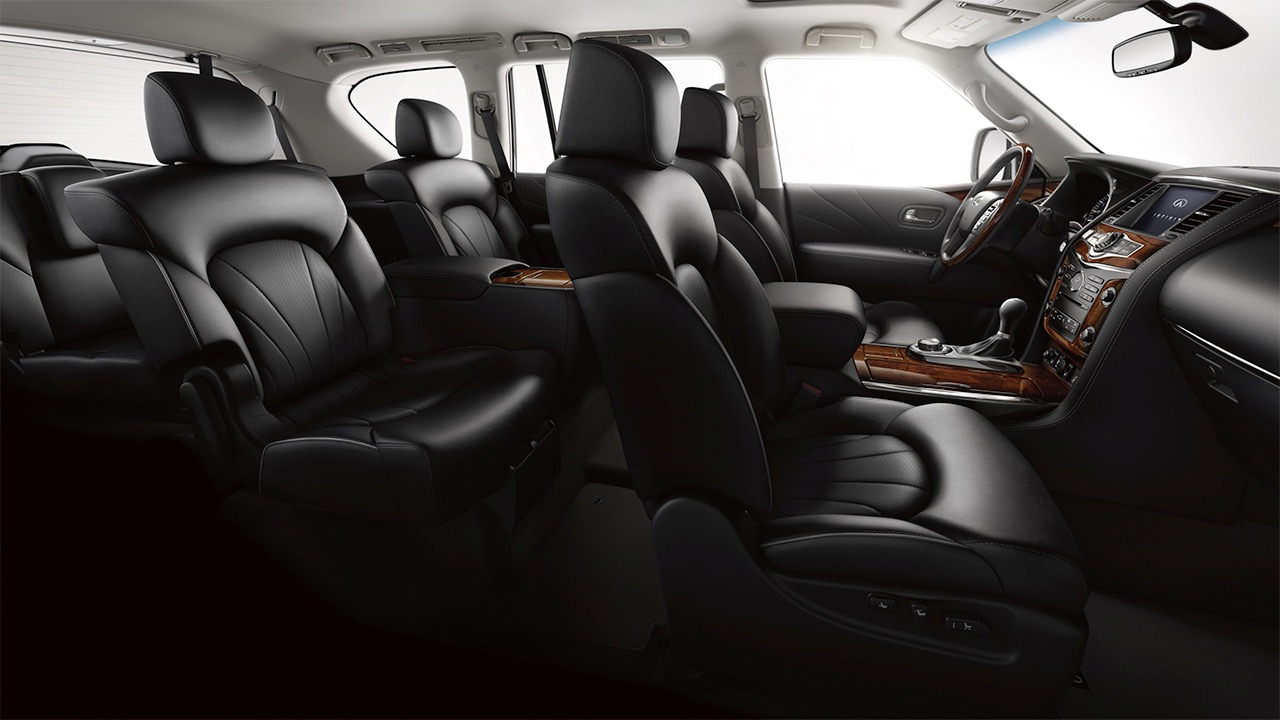2016 infiniti qx80 interior. Black Bedroom Furniture Sets. Home Design Ideas