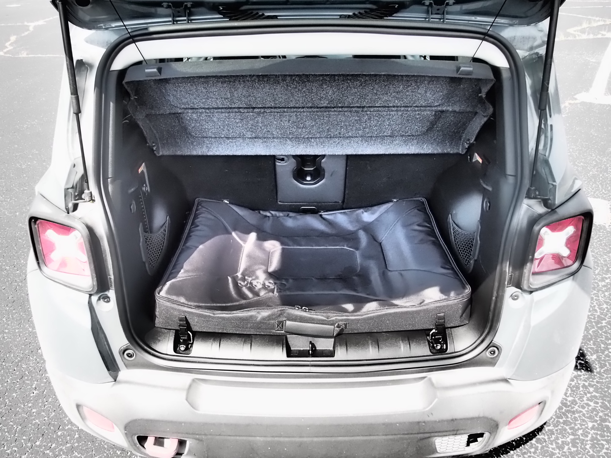 Jeep Renegade Interior on Nissan Cube Rear Seat
