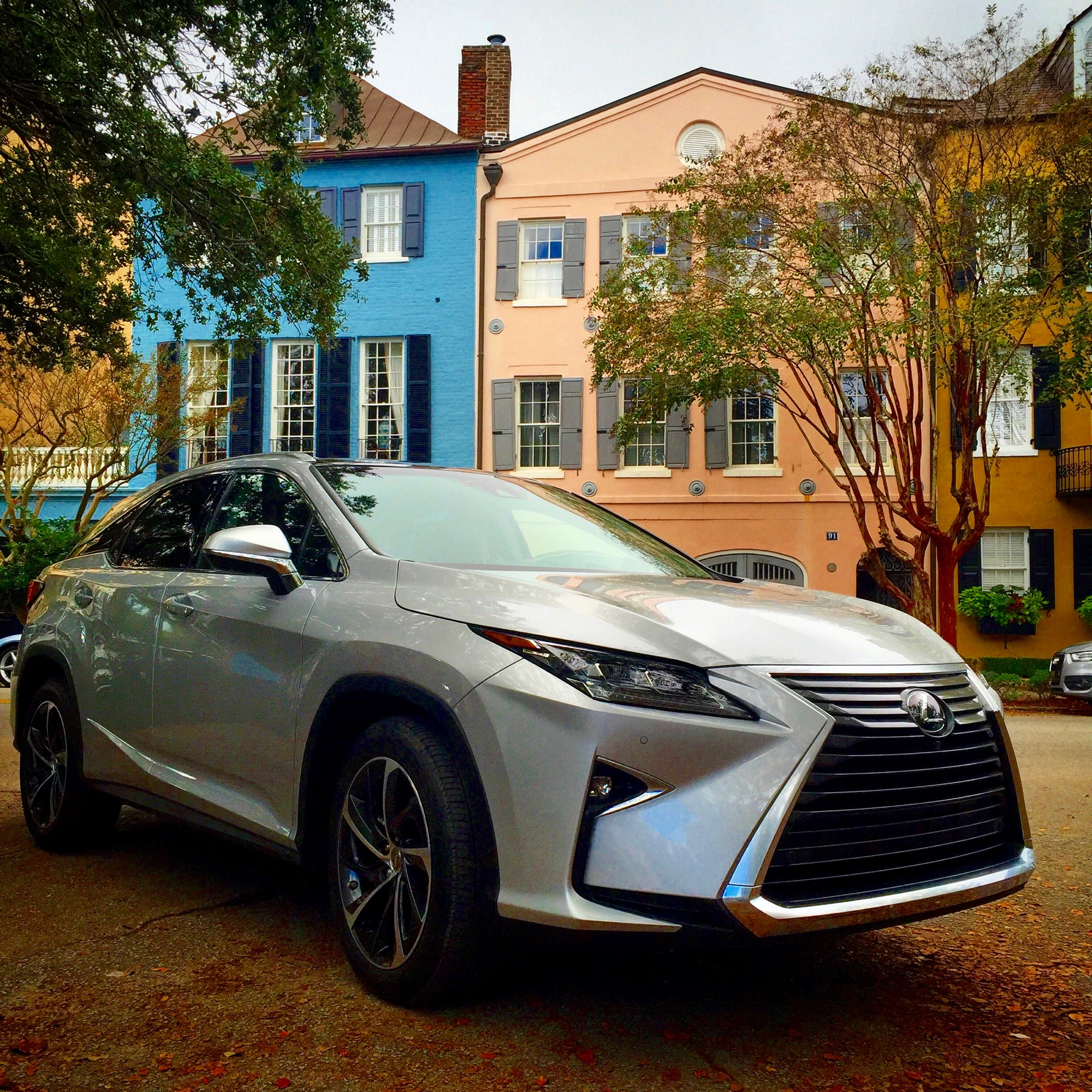 Touring Charleston SC in the All New 2016 Lexus RX