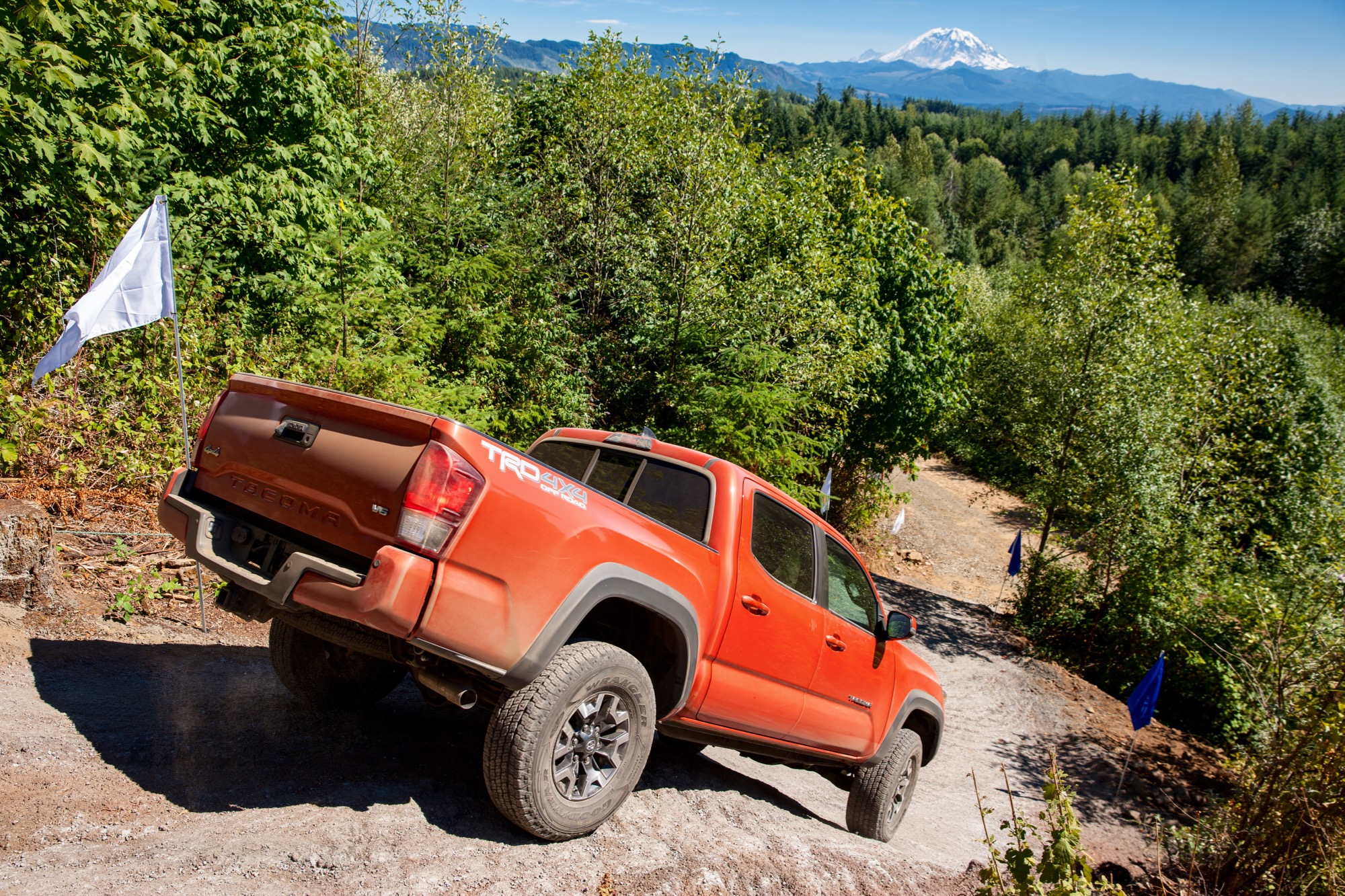 Toyota tacoma trd off road review