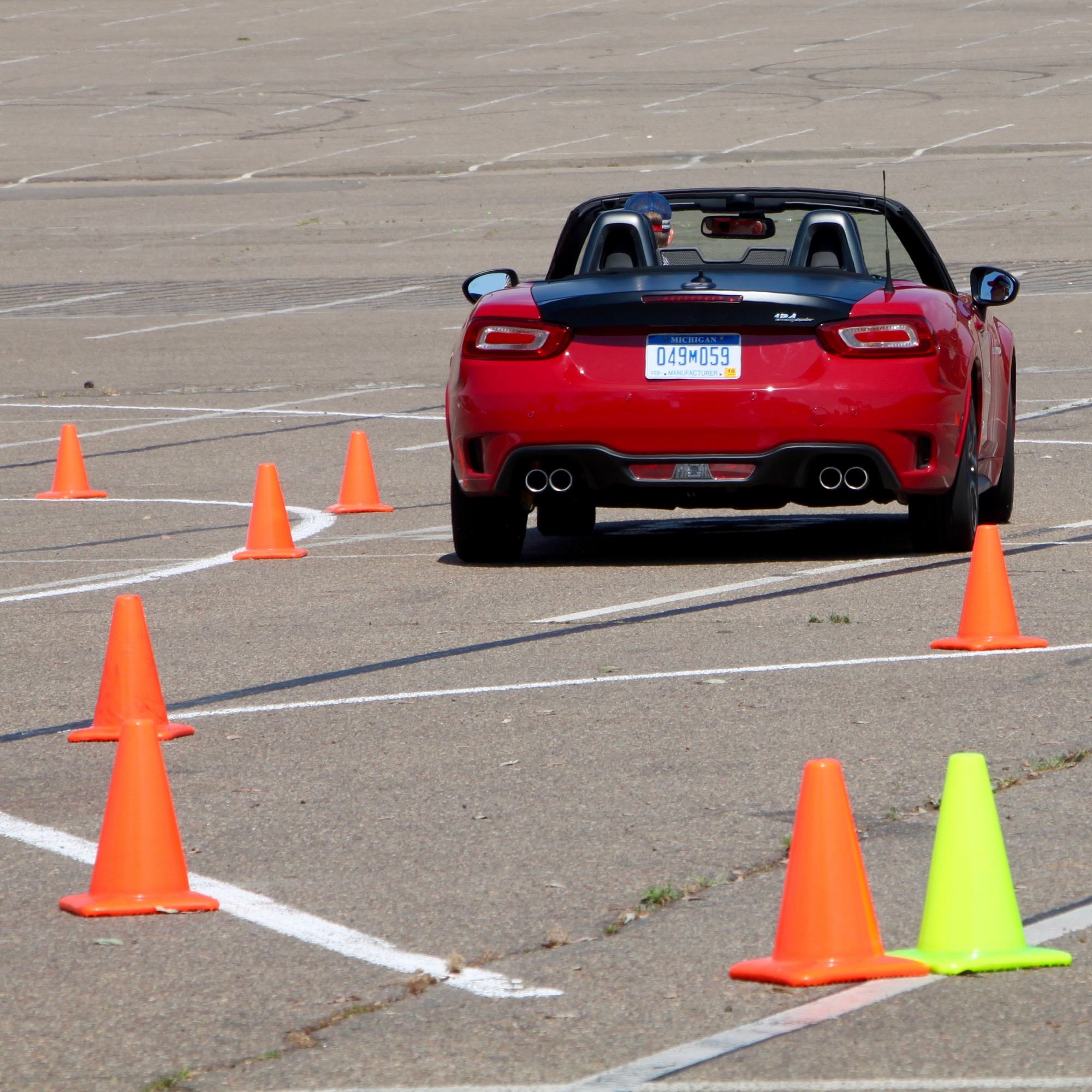 2018 Fiat 124 Spider Suspension: 2017 Fiat 124 Spider : Review
