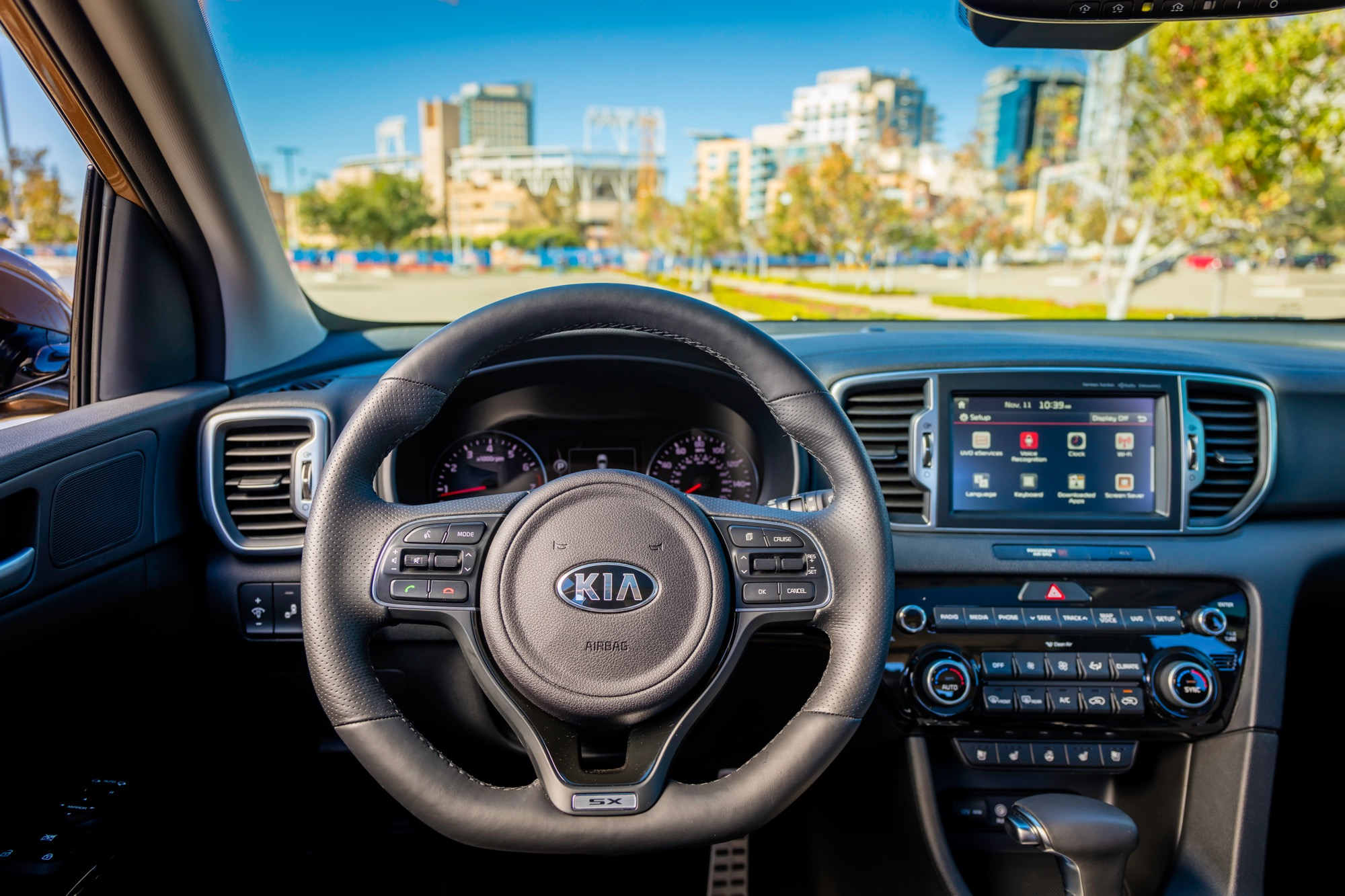 2017 kia sportage review for Interior kia sportage