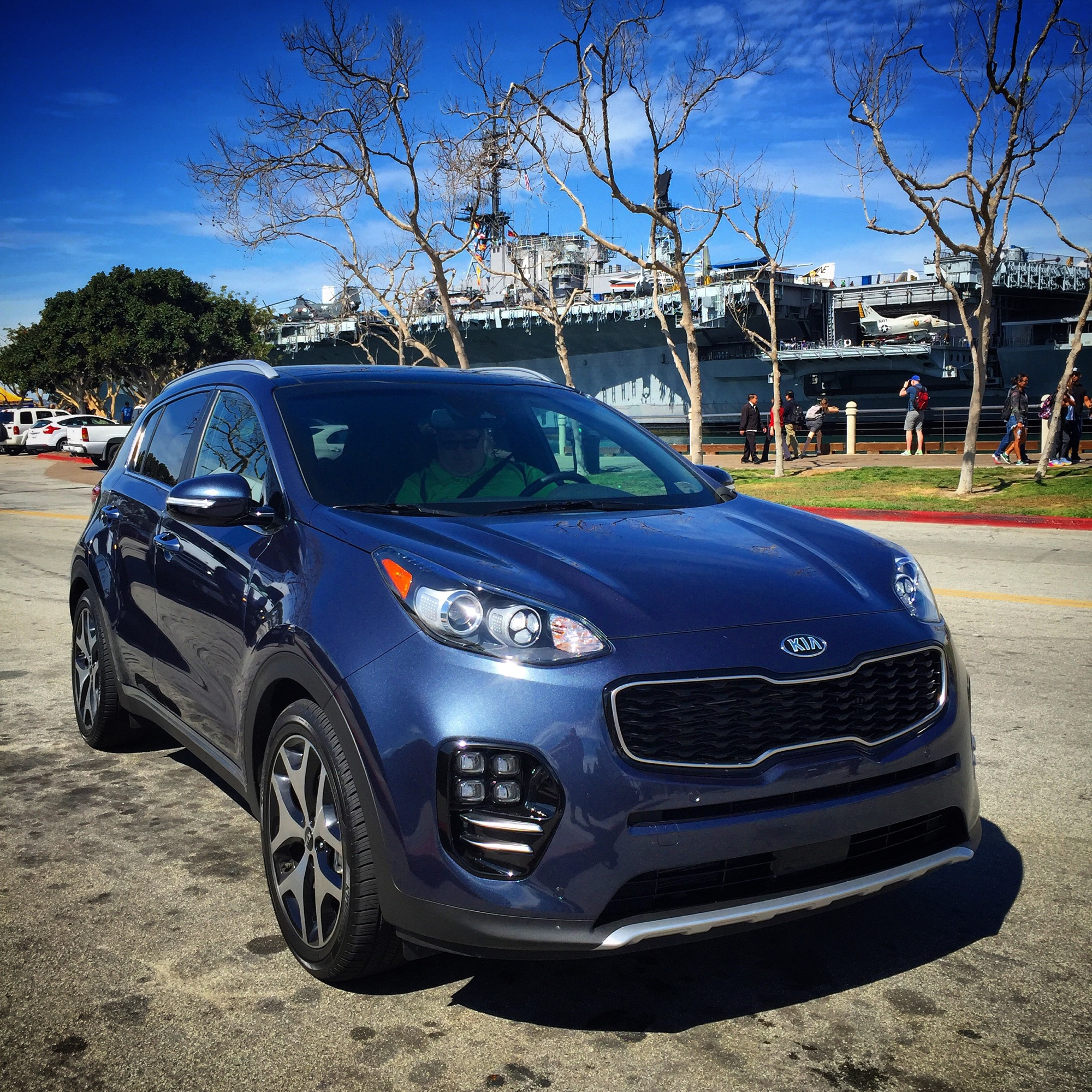 sorento angeles auto hawaii show blue kia los la stinger thejetsetfamily