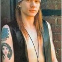 thumbs axl rose 1980s