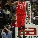 05 Mar 2007: Houston Rockets Dikembe Mutombo during the Rockets 91-85 loss to the Cleveland Cavaliers in Cleveland Ohio March 5 ,2007.