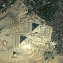 thumbs giza pyramids egypt