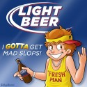 thumbs light beer mascot