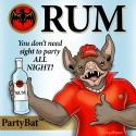 thumbs rum mascot