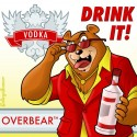 thumbs vodka mascot