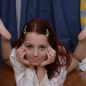 thumbs sexy redhead ariel atelier 79