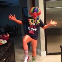 thumbs bryce harper clown halloween costume 2012