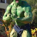 thumbs duane johnson the rock hulk halloween costume 2012