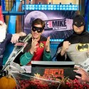 thumbs mike and mike as batman and robin