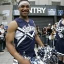 thumbs robinson cano as cheerleader