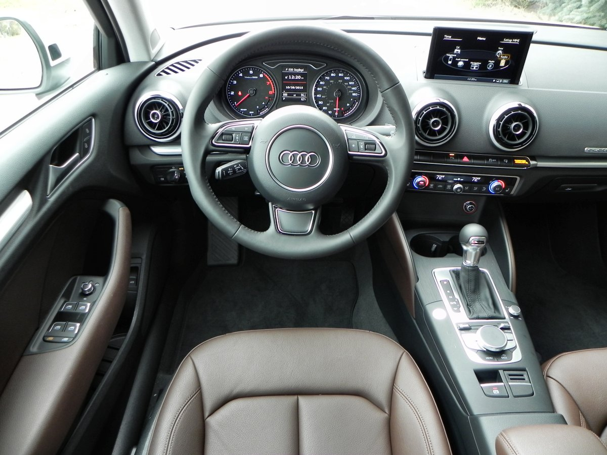2016 audi a3 review for Interior images