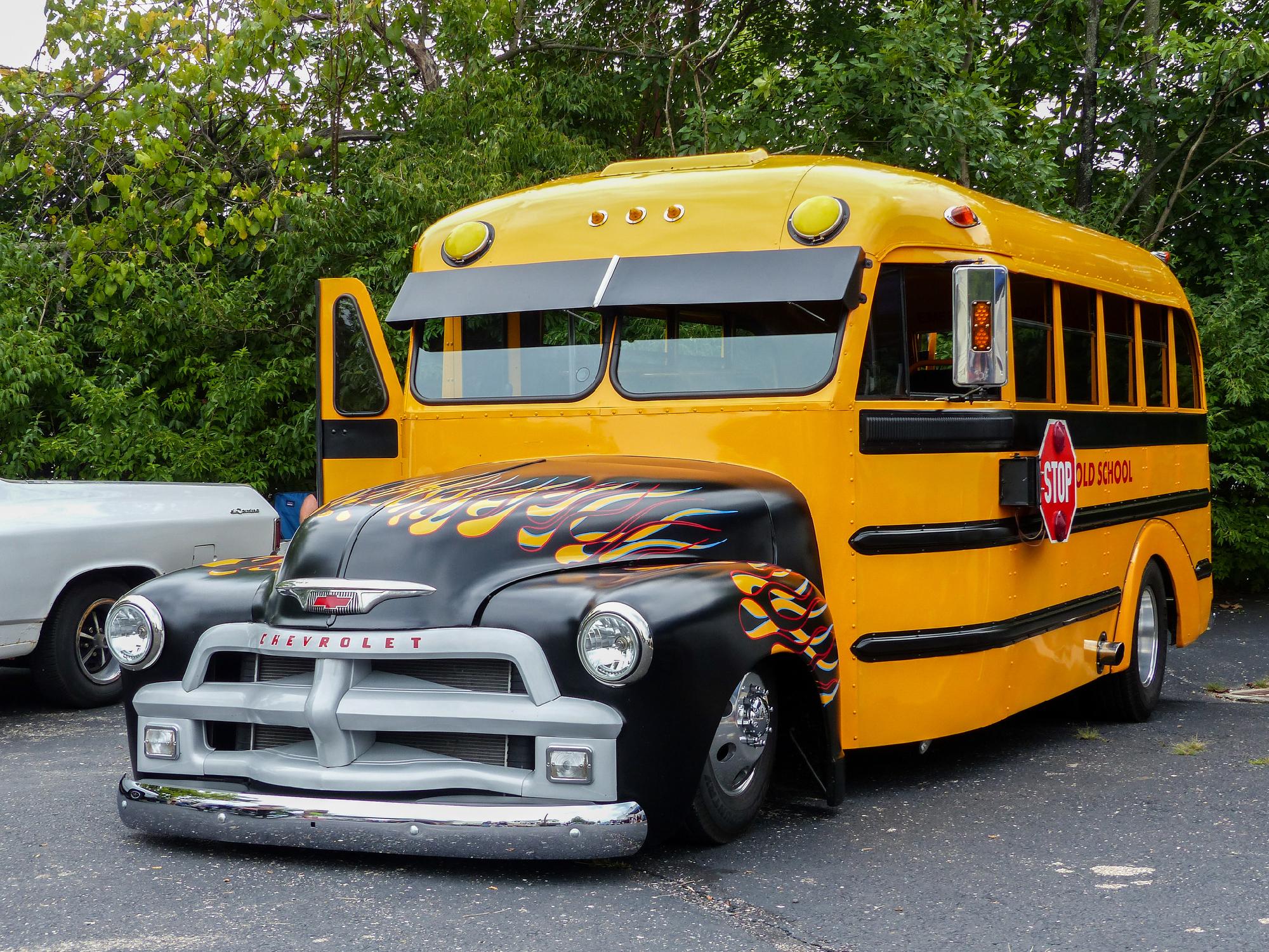 Kia Pick Up >> Pimp My School Bus