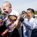 thumbs mitt romney funny photo 02
