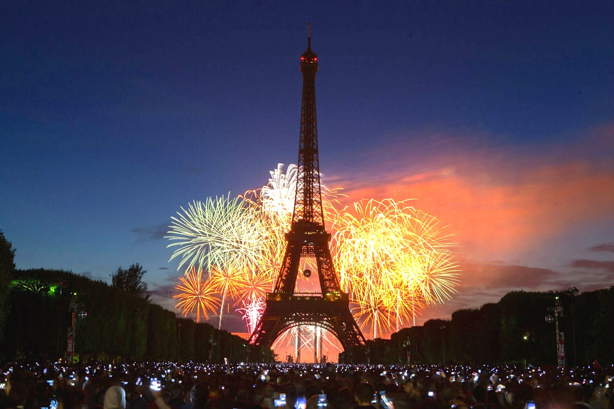 bastille day in photos