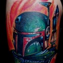 thumbs Boba Fett by tattoos by zip
