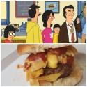 thumbs heartichoke burger