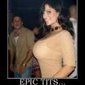 thumbs normal epic tits epic tits tits boobs retard retarded demotivational poster 1238676447