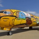 thumbs brazil world cup plane 3