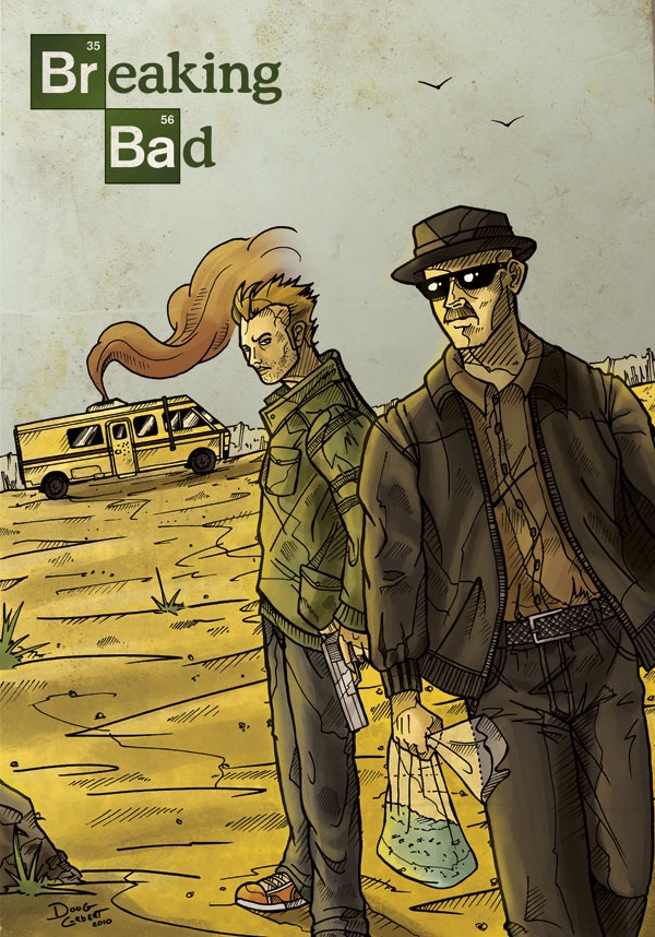 ultimate breaking bad fan art gallery