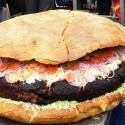 thumbs huge hamburger 06