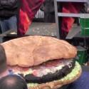 thumbs huge hamburger 08