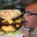 thumbs huge hamburger 10