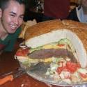 thumbs huge hamburger 14