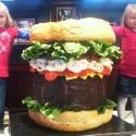 thumbs huge hamburger 16