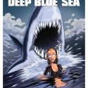 thumbs deep blue sea by inkjava