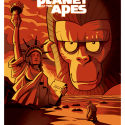 thumbs planet of the apes by inkjava