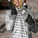 US socialite Paris Hilton poses as she visits a Christmas fair in Berlin 13 December 2007. Hilton is spending 5 days in the German capital. AFP PHOTO   DDP/BERTHOLD STADLER    GERMANY OUT  (Photo credit should read BERTHOLD STADLER/AFP/Getty Images)