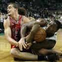 APTOPIX Bulls Celtics Basketball
