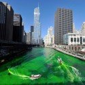 thumbs chicago river green dye st patricks day 07