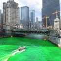 thumbs chicago river green dye st patricks day 08