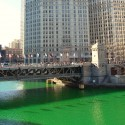 thumbs chicago river green dye st patricks day 09