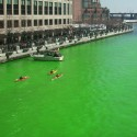thumbs chicago river green dye st patricks day 11