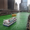 thumbs chicago river green dye st patricks day 17