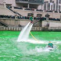 thumbs chicago river green dye st patricks day 18