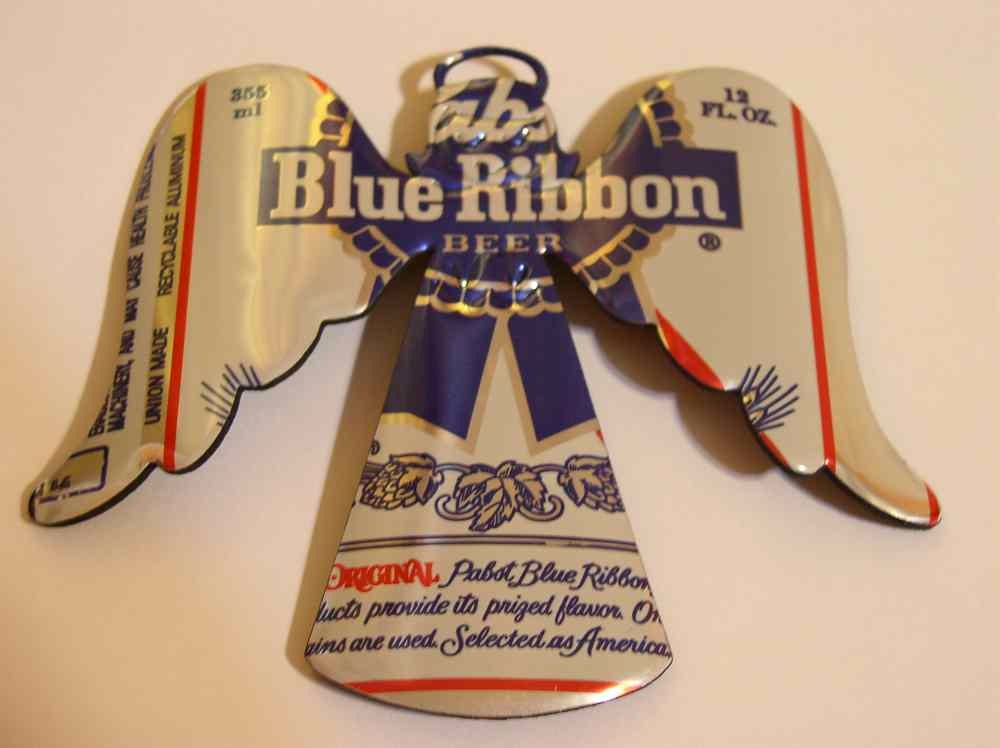 60 joyous beer christmas decorations for Aluminum can decorations