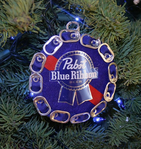 how to make a beer can christmas tree